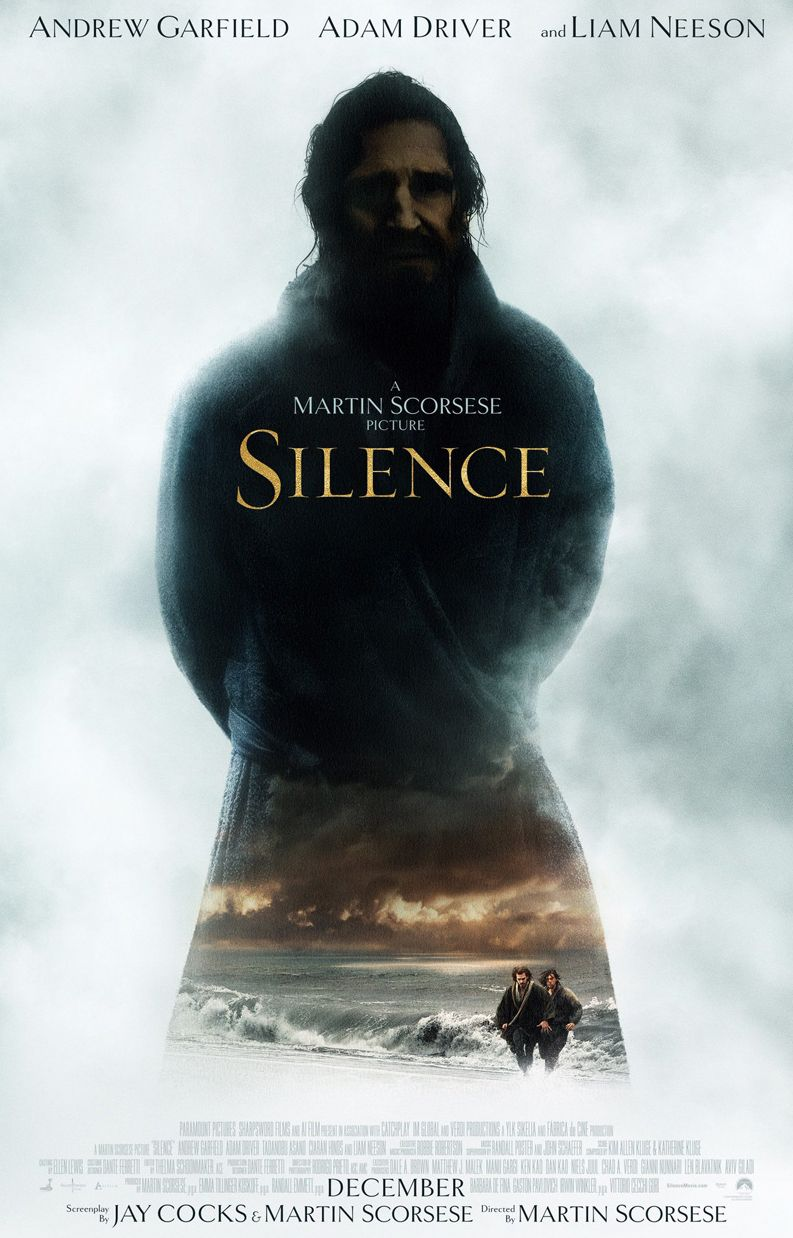 New poster for Martin Scorsese's next film, 'Silence'