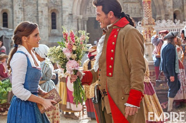 New image from 'Beauty and the Beast' features Belle and Gas