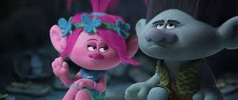 "Poppy (Anna Kendrick) and Branch (Justin Timberlake) in ""Trolls"""