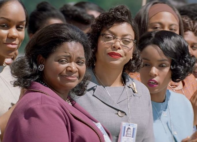 "Octavia Spencer, Taraji P. Henson and Janelle Monae in ""Hidden Figures"""