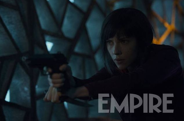New look at Scarlett Johansson in 'Ghost in the Shell'