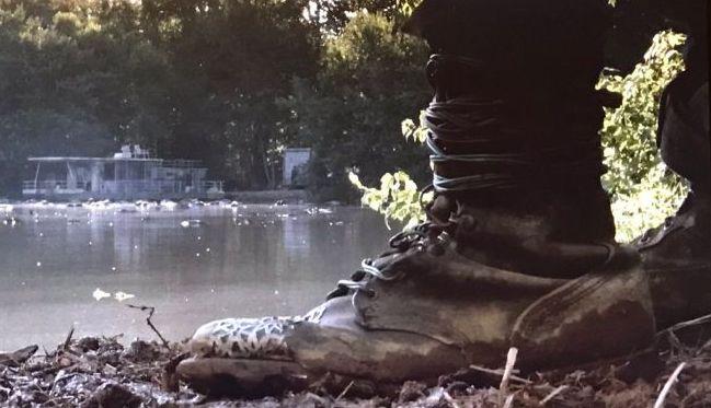 The mystery figure in The Walking Dead