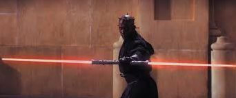 Darth Maul in the Phantom Menace
