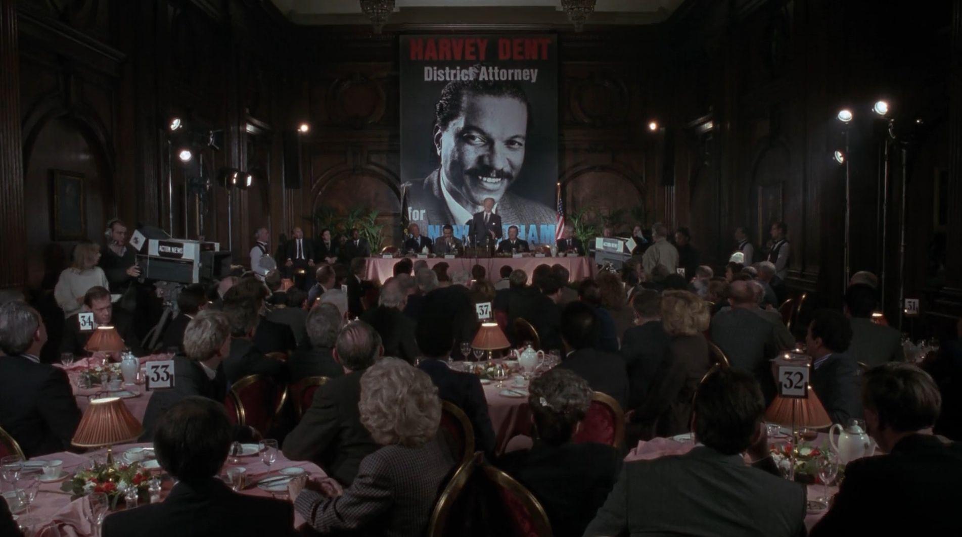 Billy Dee Williams as Harvey Dent