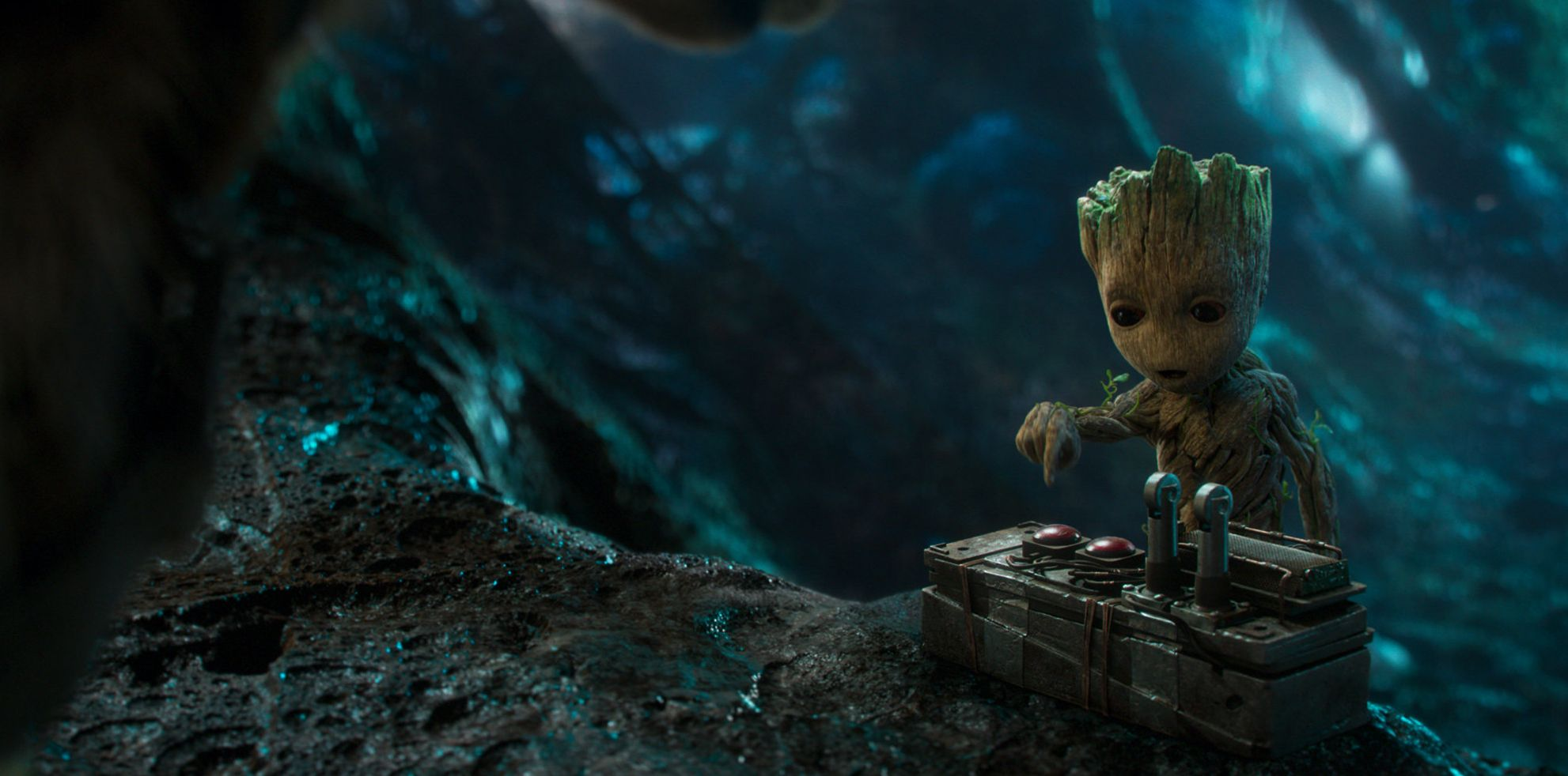 Baby Groot in Guardians Vol 2