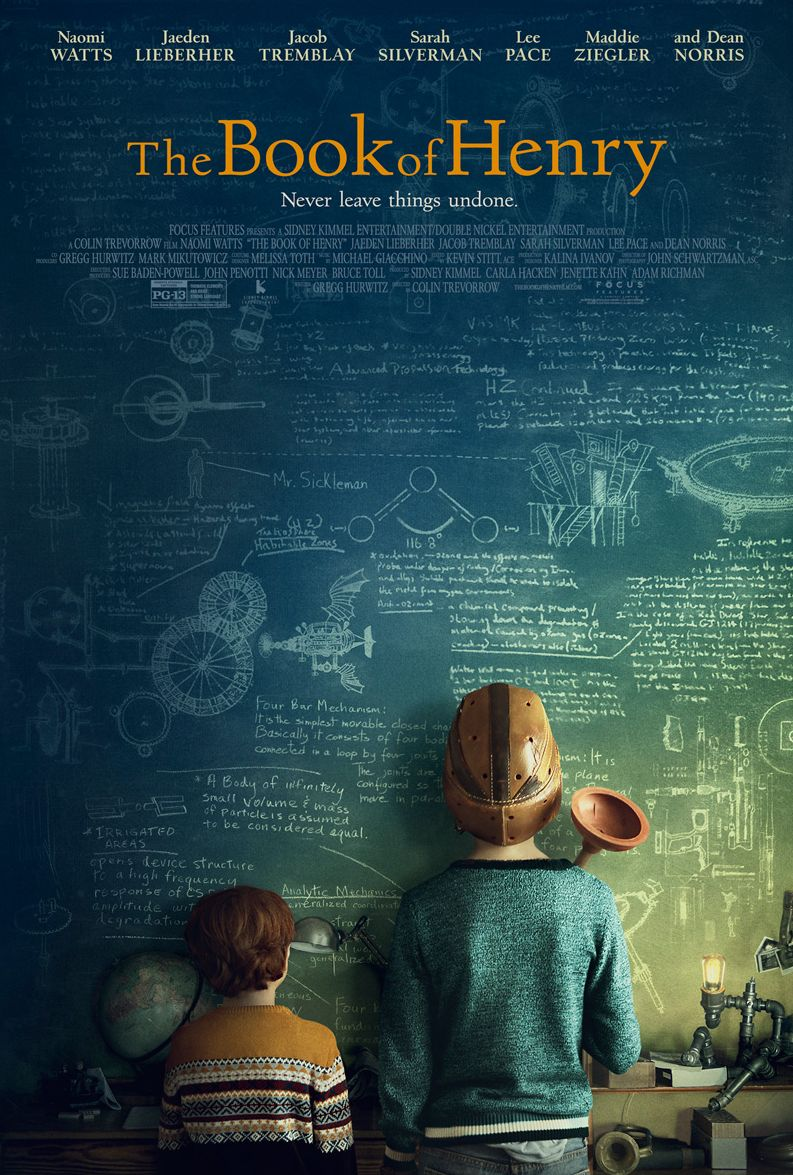 First poster for Colin Trevorrow's The Book of Henry