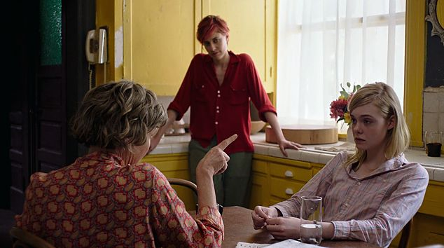 "Annette Bening, Greta Gerwig and Elle Fanning in ""20th Century Women"""