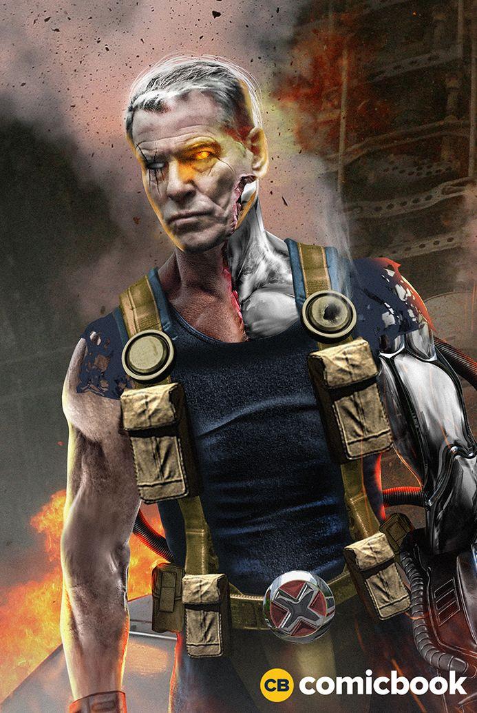 Pierce Bronsnan as Cable.