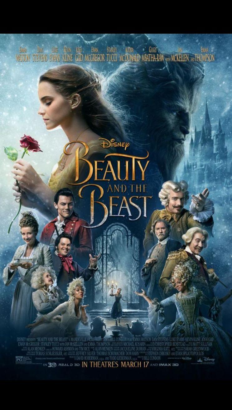 New 'Beauty and the Beast' poster!