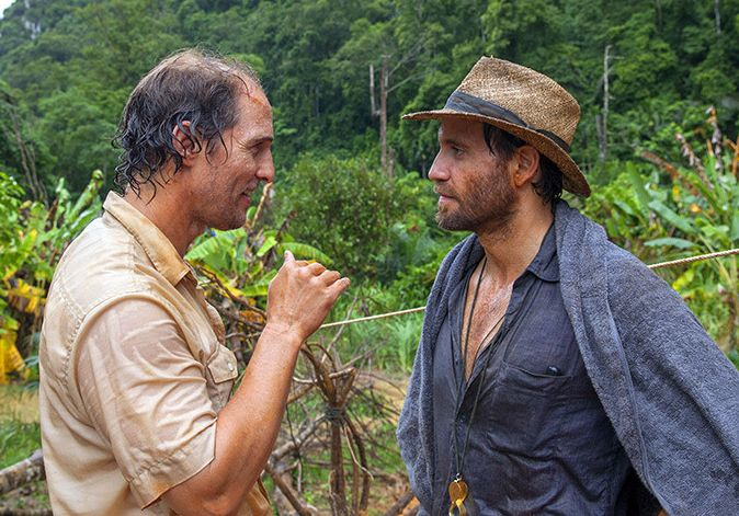 "Matthew McConaughey and Edgar Ramirez in ""Gold"""