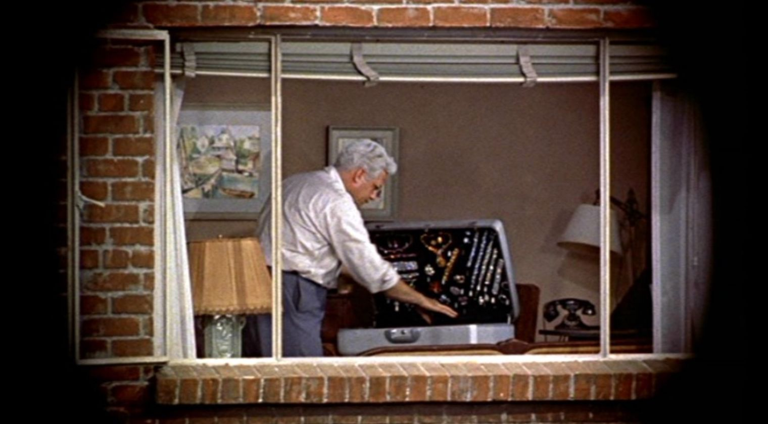 opening shot analysis of rear window In rear window hitchcock shows his common theme of women being the lower gender through the framing of his shots by engaging in a shot reverse shot sequence after the slow motion kiss demonstrating the higher status through the space around the characters.