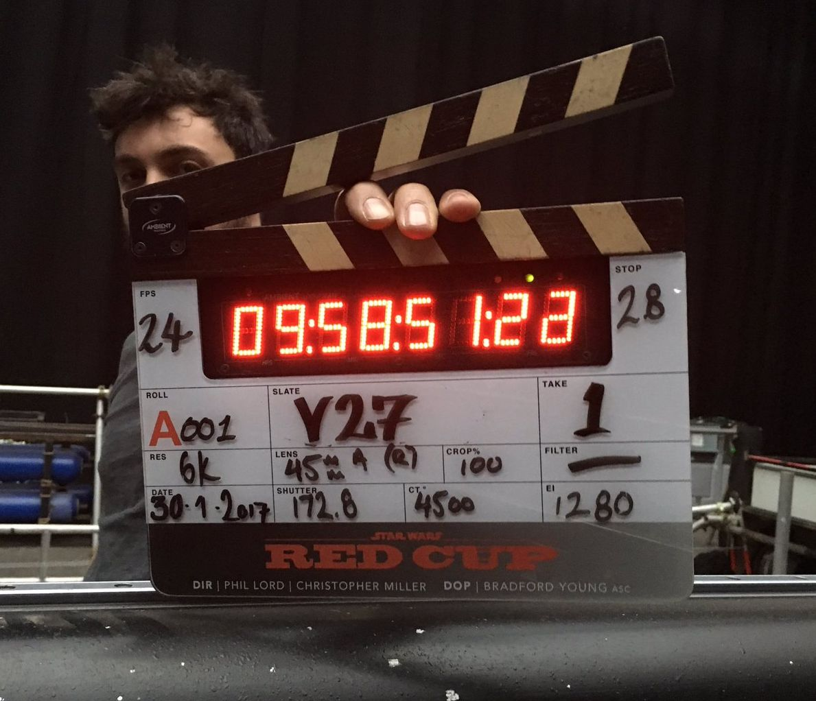 First set photo from the Han Solo Star Wars film