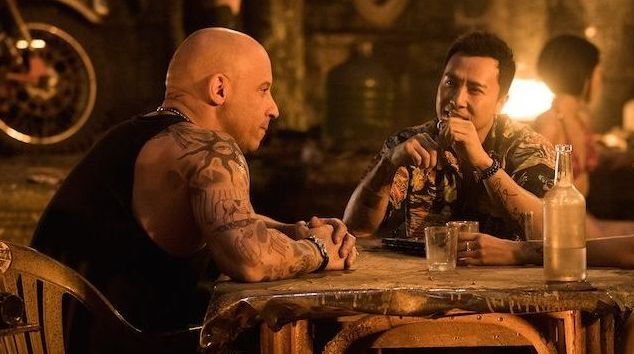 "Vin Diesel and Donnie Yen in ""xXx: The Return of Xander Cage"""