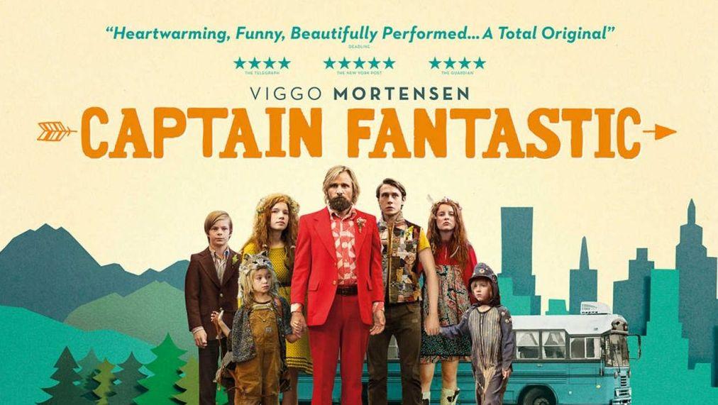 ผลการค้นหารูปภาพสำหรับ captain fantastic film poster
