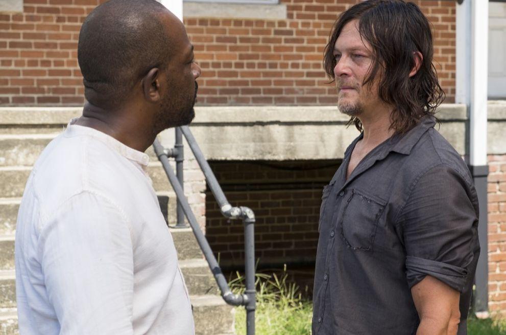 Morgan and Daryl S07E10