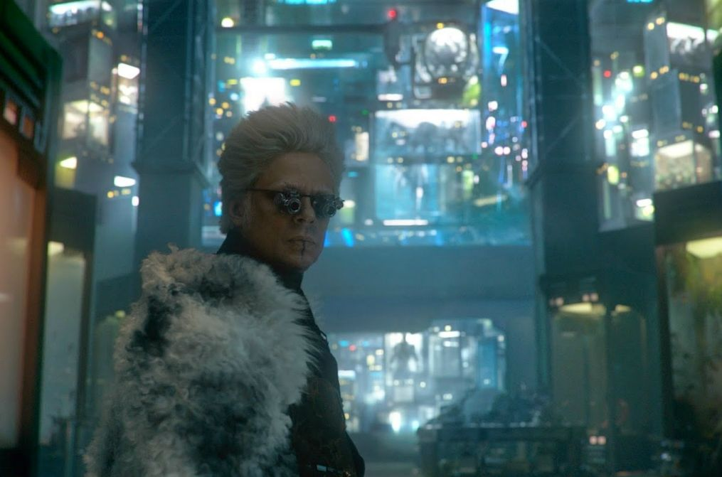 Benicio del Toro as the Collector