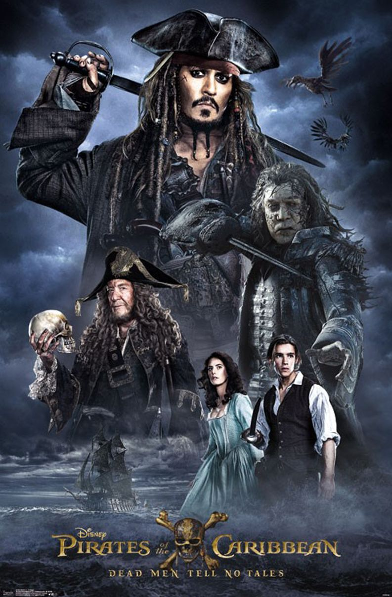 A pretty generic new look at 'Pirates of the Caribbean 5'