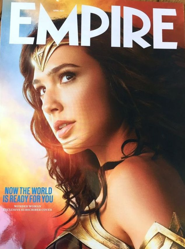Wonder Woman graces the cover of an upcoming issue of Empire