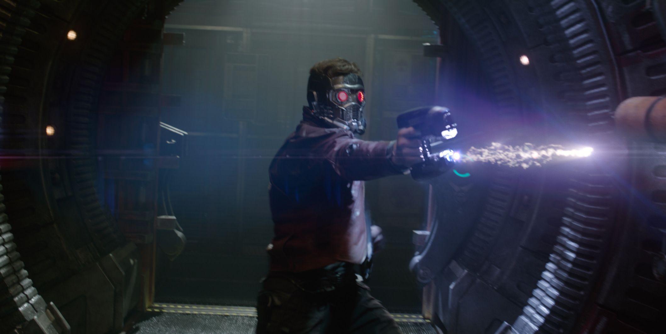 Chris Pratt as Star Lord
