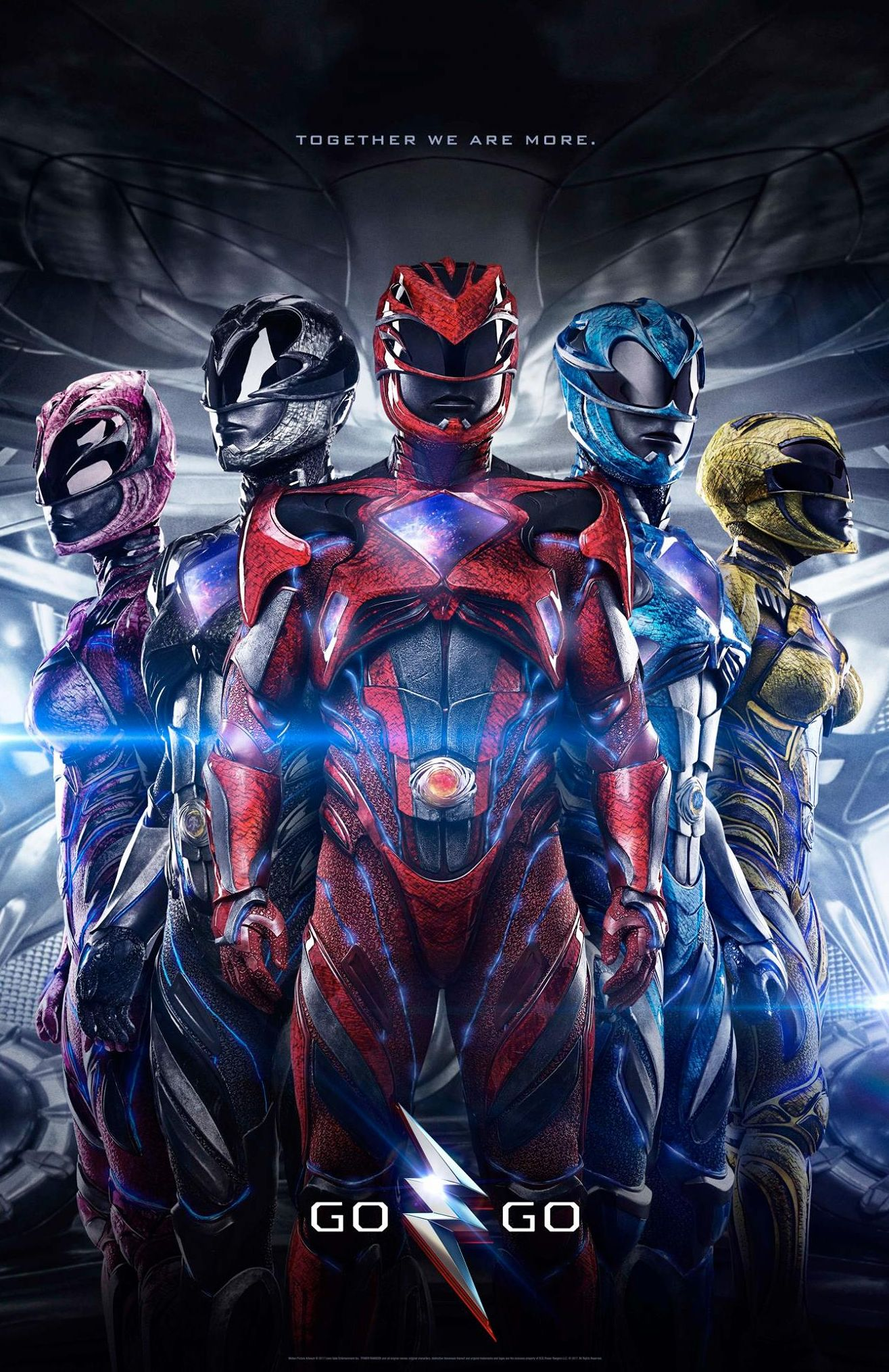New poster lands for 'Power Rangers'