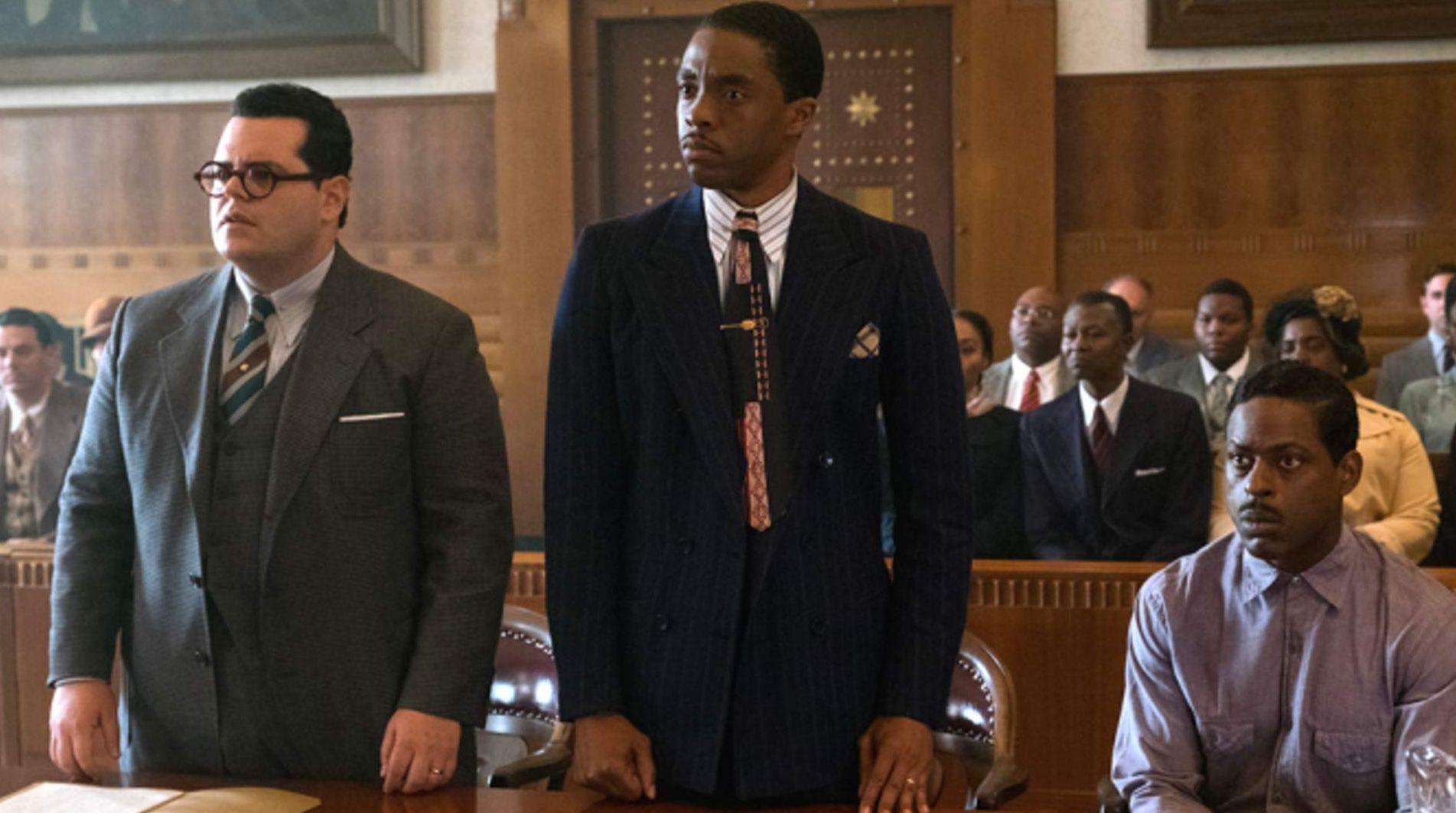 Chadwick Boseman in Marshall