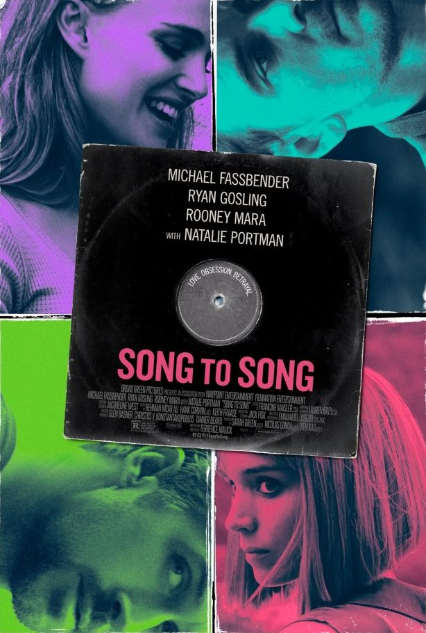 Pulpy and colourful first poster for Terence Malick's 'Song