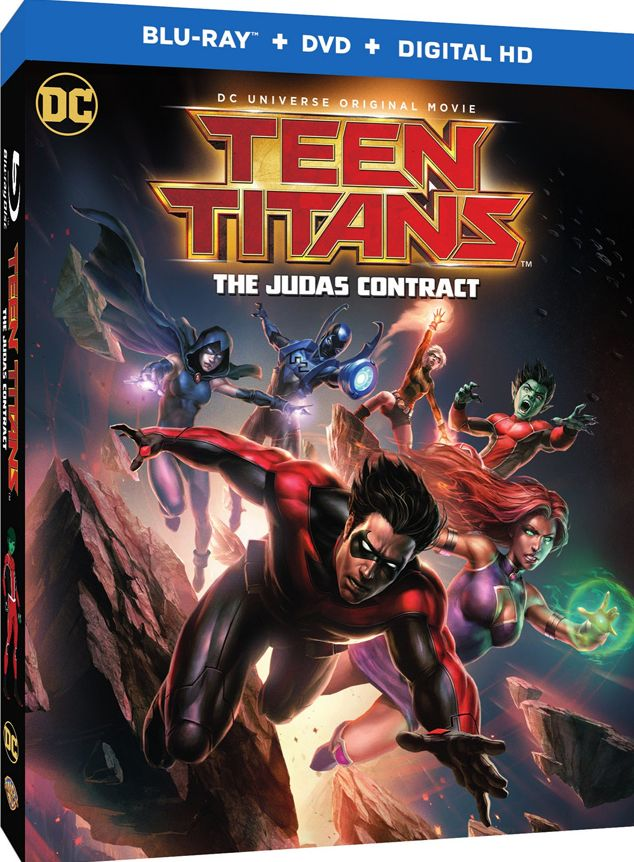 Box art for 'Teen Titans: The Judas Contract'
