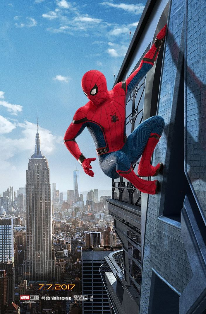 Spider-Man: Homecoming Teaser Poster