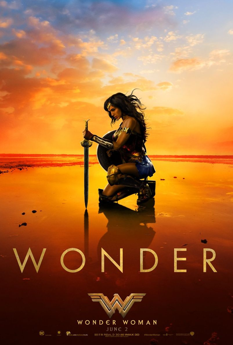 Stunning new poster for Wonder Woman