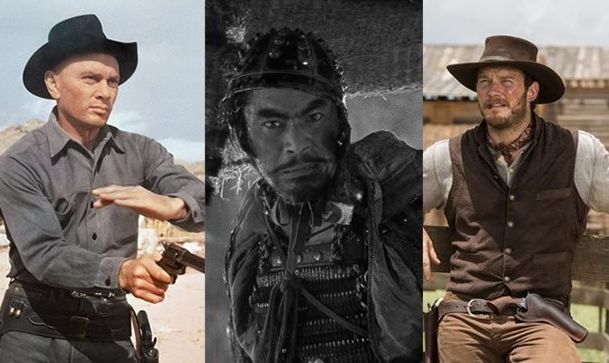 The Magnificent Seven (1960 & 2016) & Seven Samurai (1954)