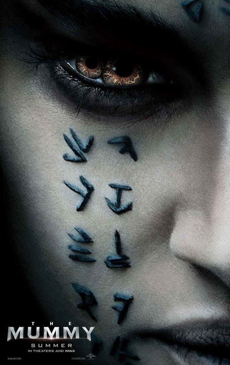 Creepy new poster for 'The Mummy'