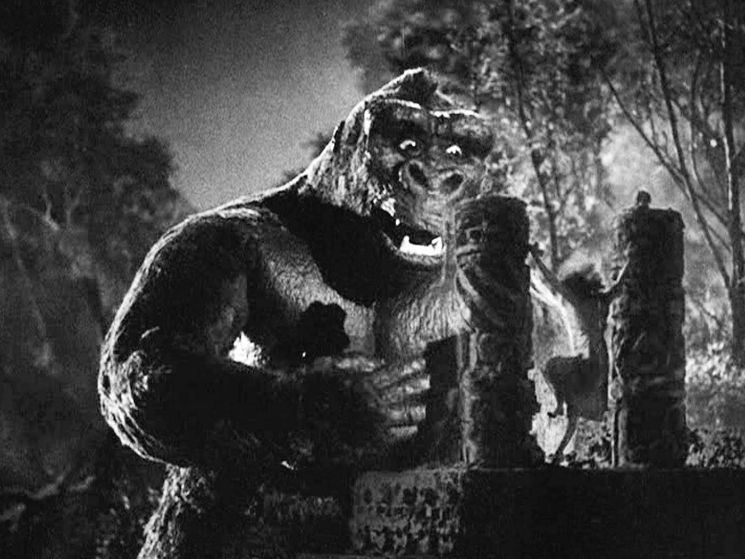 King Kong and Fay Wrey