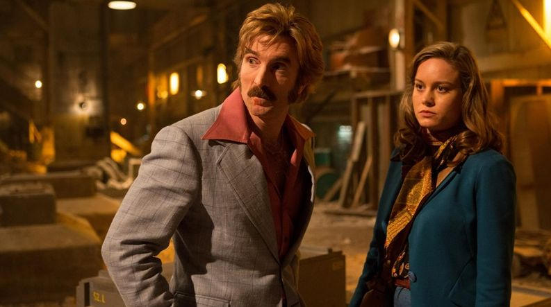 "Sharlto Copley and Brie Larson in ""Free Fire"""