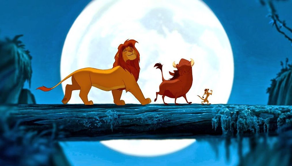 Timon and Pumbaa/ Lion King