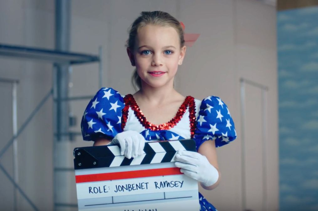 """Hannah, a young actresses 'auditioning' for the title role, in """"Casting JonBenet"""""""
