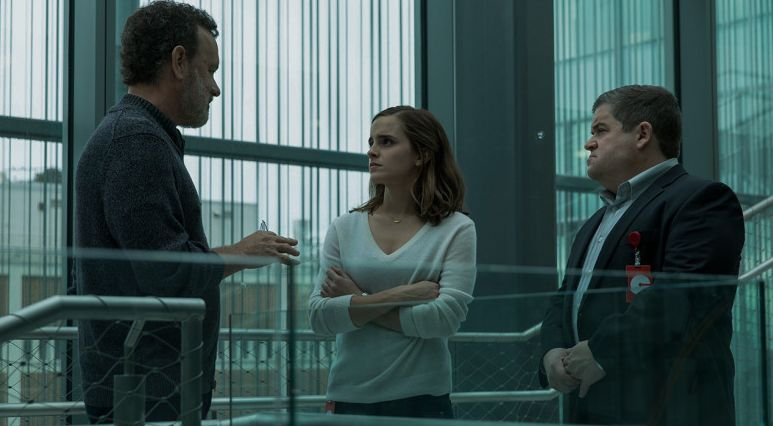 """Tom Hanks, Emma Watson and Patton Oswalt in """"The Circle"""""""