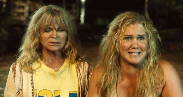 "Goldie Hawn and Amy Schumer in ""Snatched"""