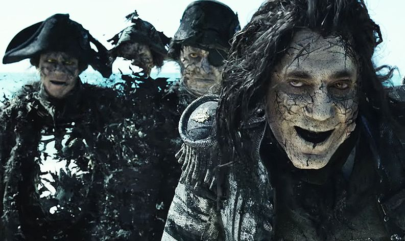 "Javier Bardem in ""Pirates of the Caribbean: Dead Men Tell No Tales"""