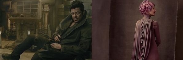Benicio Del Toro and Laura Dern's characters revealed for 'S