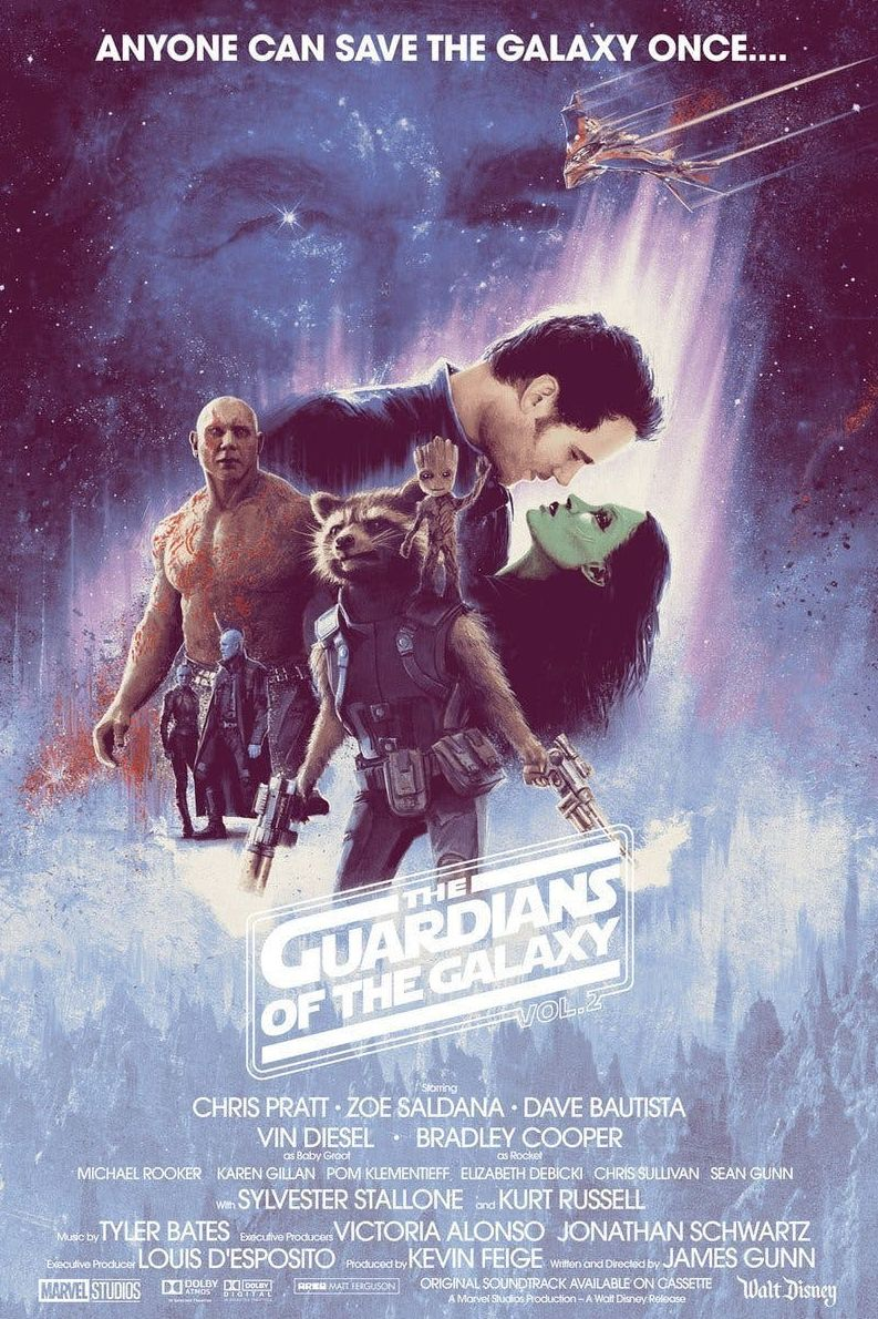 Guardians of the Galaxy Vol. 2 Poster By: Matt Ferguson