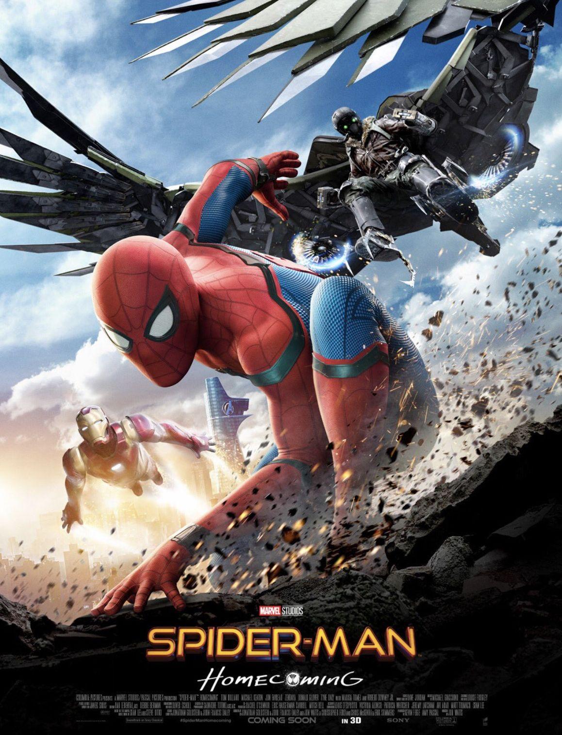 Örümcek-Adam Eve Dönüş - Spider-Man Homecoming 2017 1080p WEB-DL Türkçe Altyazılı Film indir
