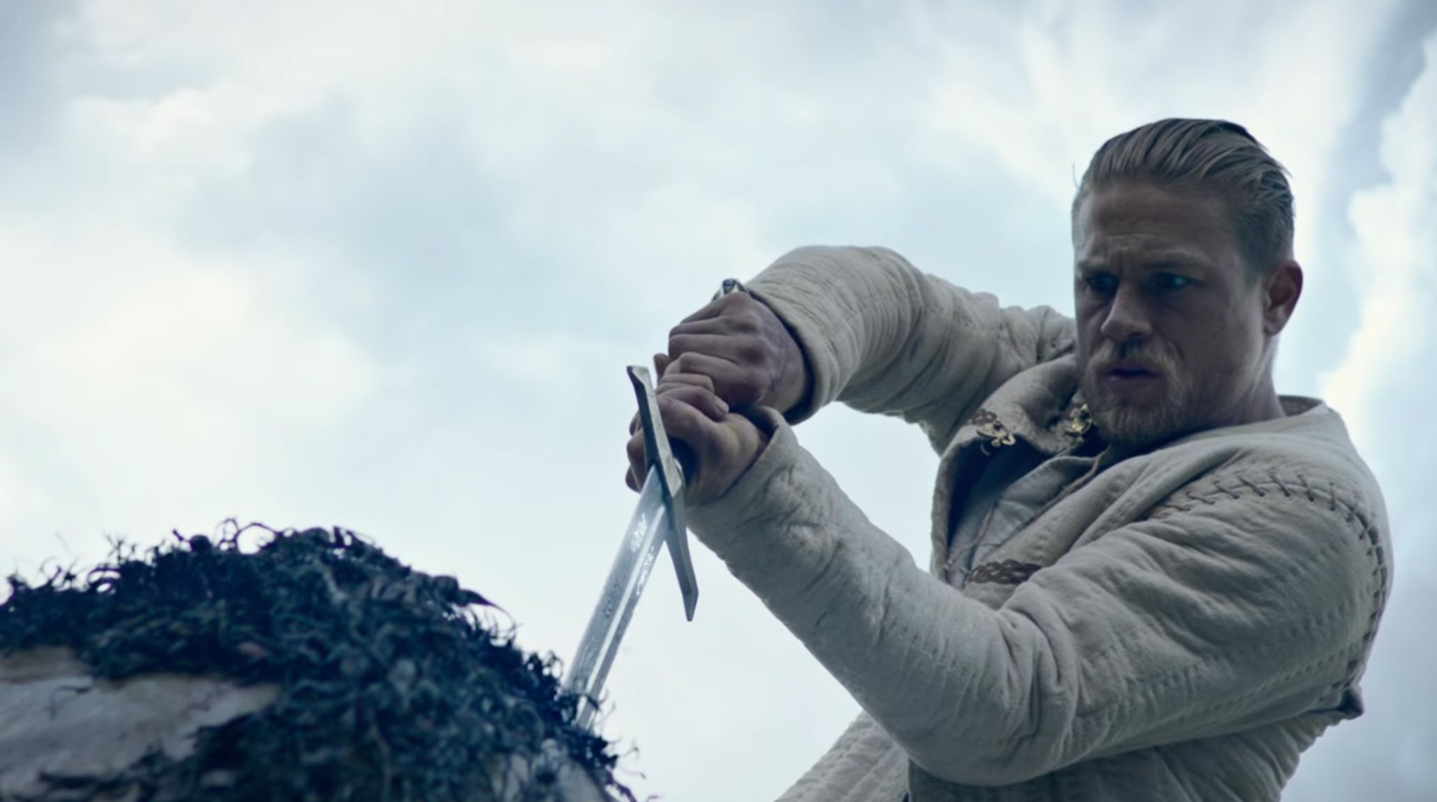 "Charlie Hunnam in ""King Arthur: Legend of the Sword"""