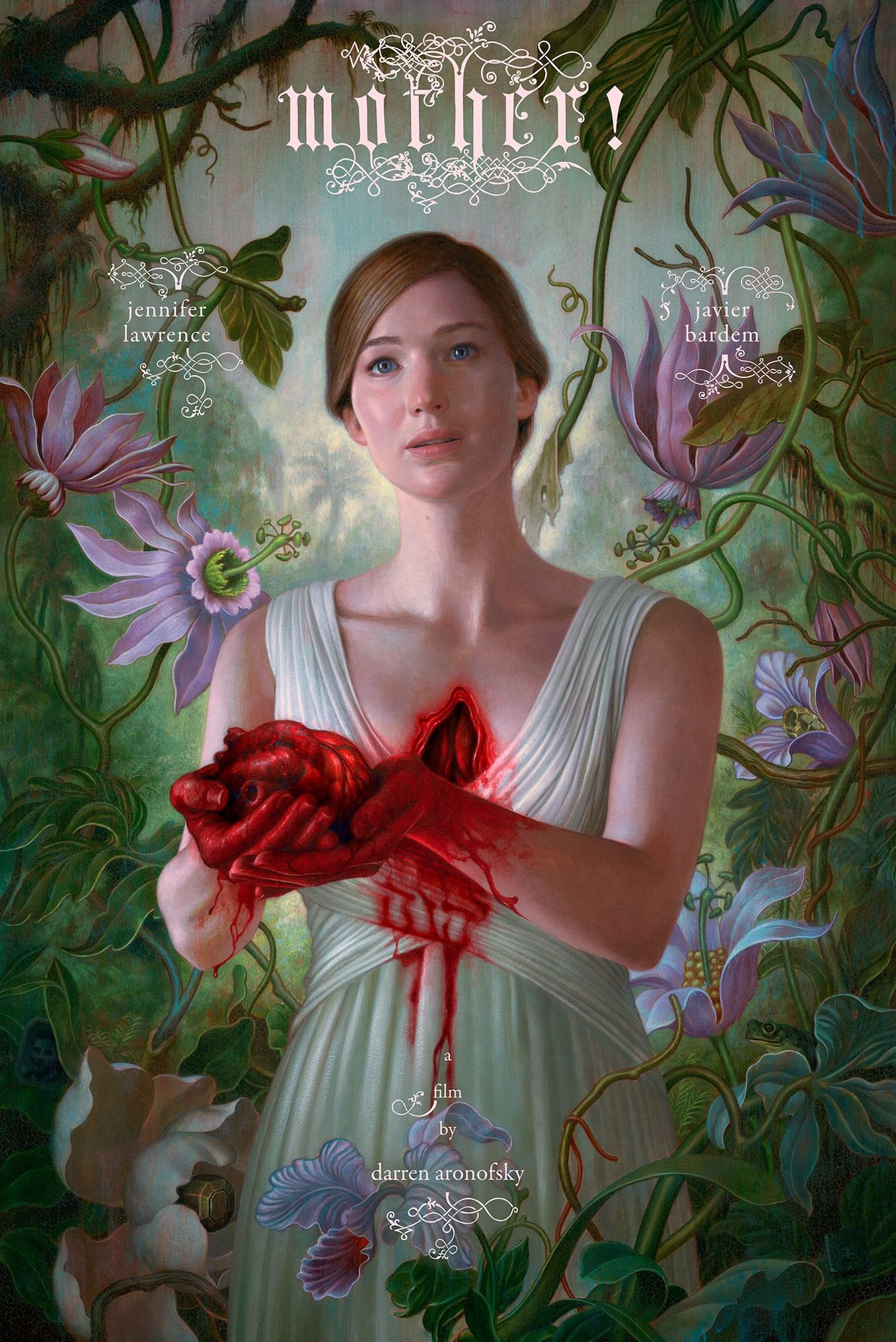 First Disturbing Poster for Darren Aronofsky's 'mother!' wit