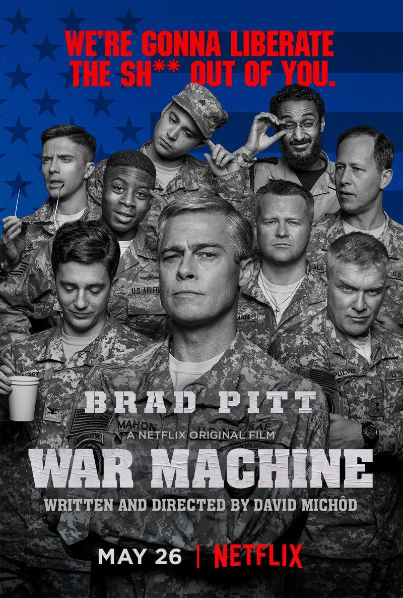 War Machine Poster   Cultjer