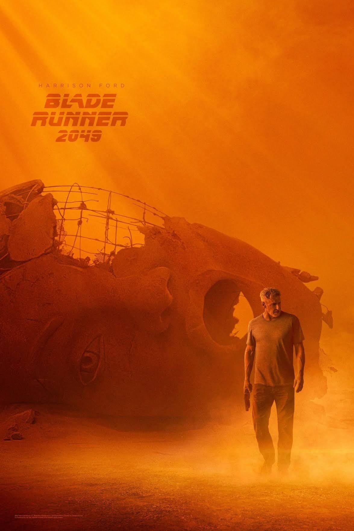 Blade Runner 2049 poster (Harrison Ford)