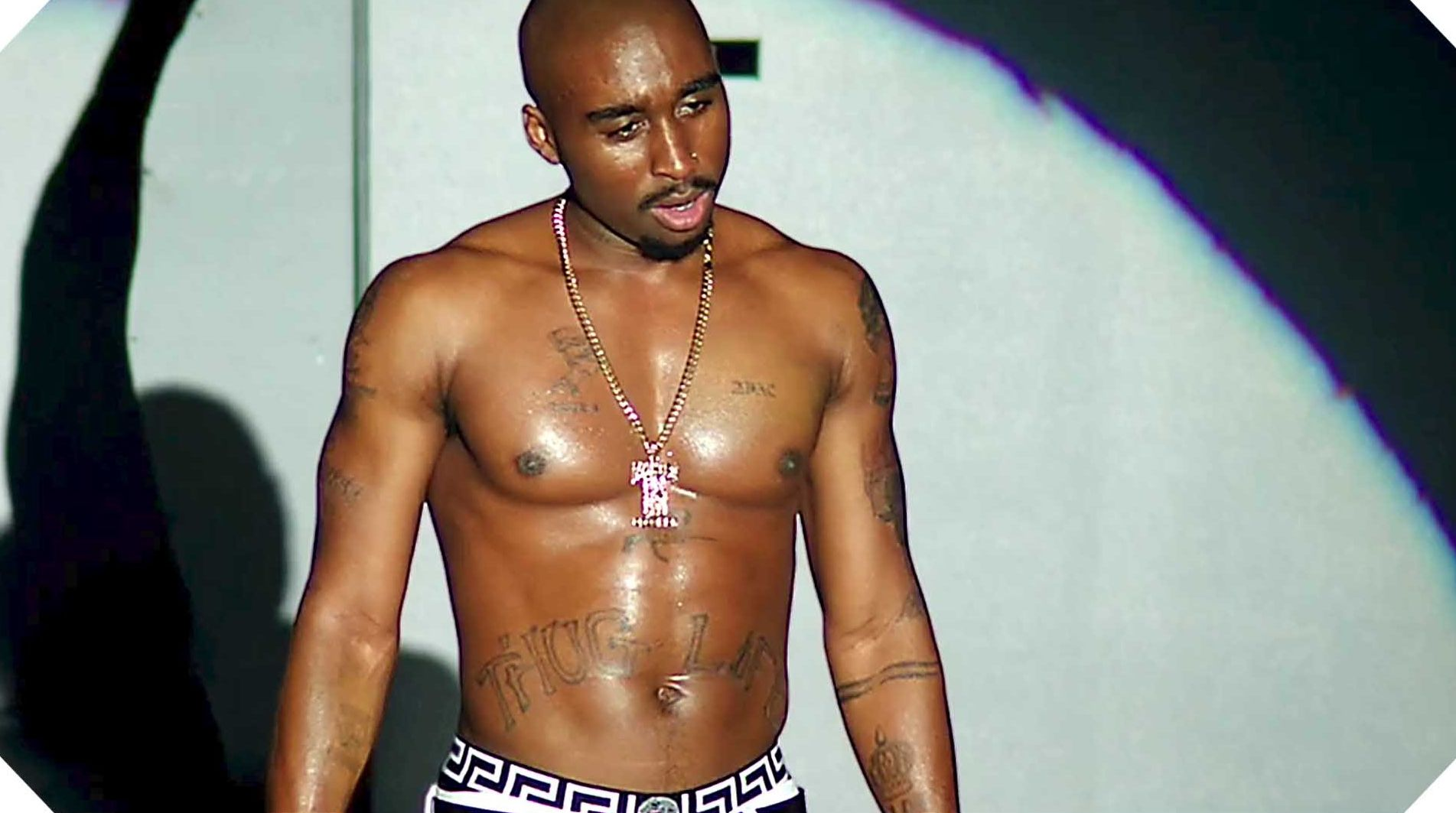"Demetrius Shipp, Jr. as Tupac Shakur in ""All Eyez On Me"""