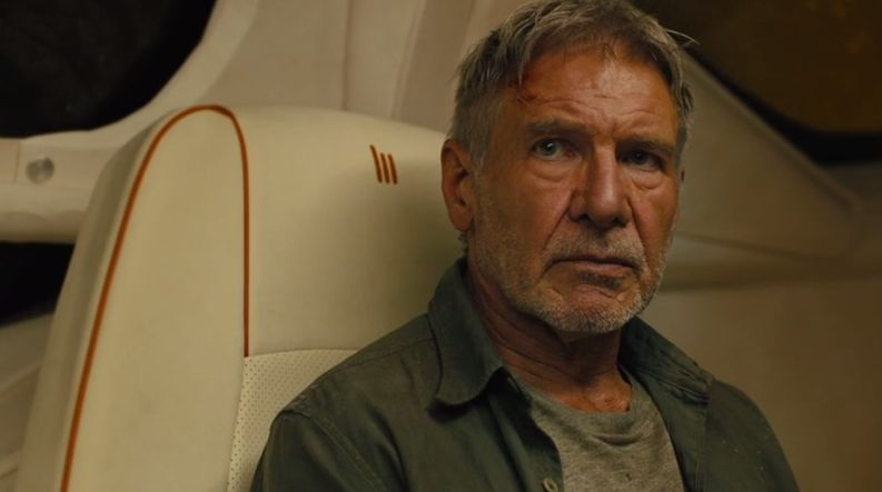"Harrison Ford as ""Rick Deckard"" - Courtesy Warner Bros. Pict"
