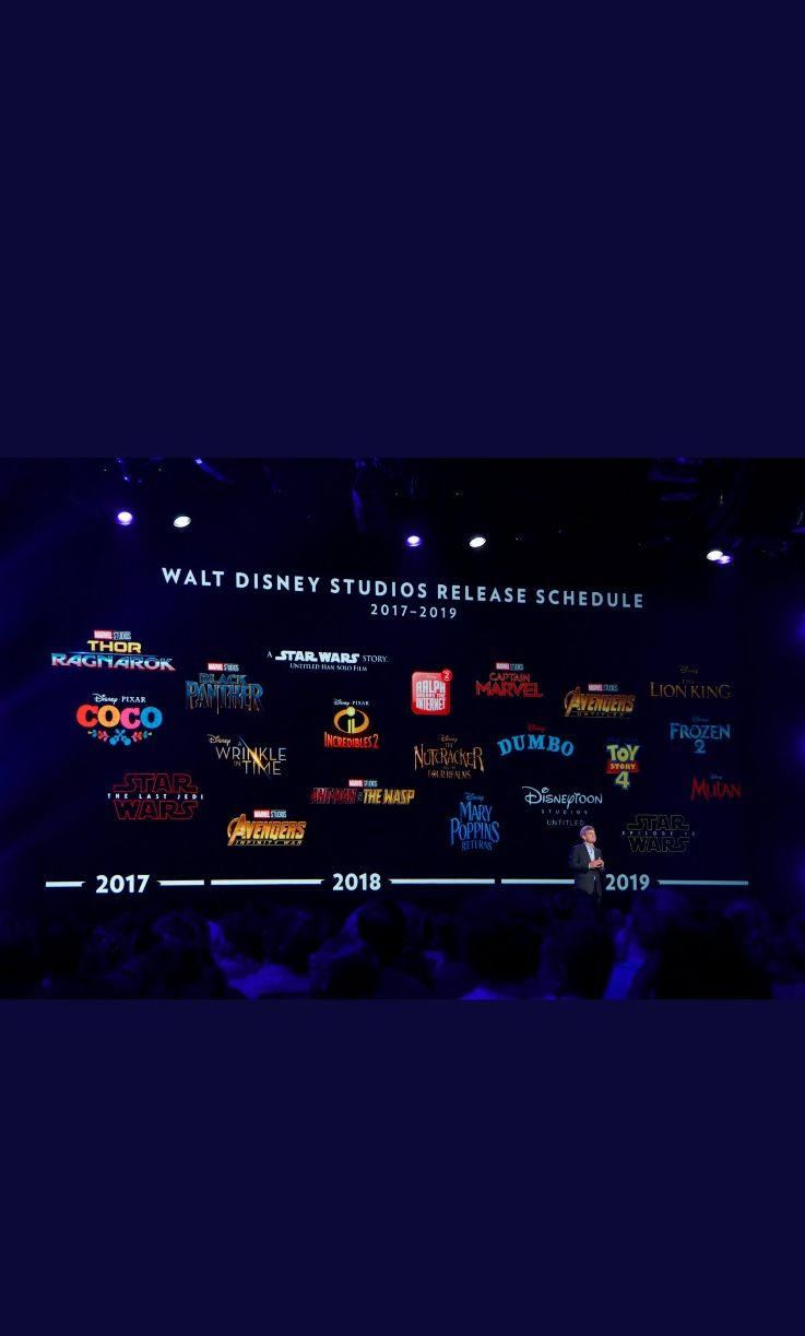 A look at Disney's 2017-2019 Slate it's absolutely stacked!