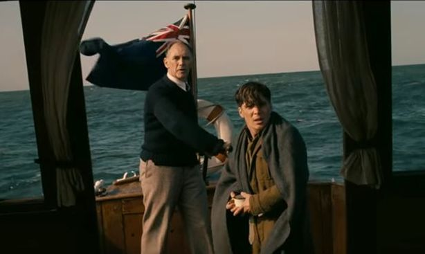 "Mark Rylance and Cillian Murphy in ""Dunkirk"""