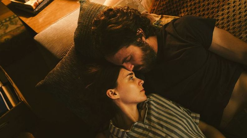 """Rooney Mara and Casey Affleck in """"A Ghost Story"""""""